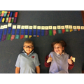 Check our our awesome Numicon number line!