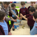 A great practical experiment showing how food is digested in our bodies.