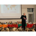 Rev Lamb leads our Harvest assembly