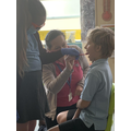 A visit from a real life dentist.