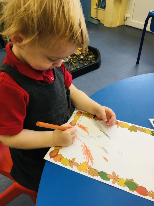 Drawing our favourite characters from the book