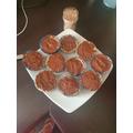 Luca's cupcakes look delicious.