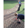 Shape hunt  in the garden