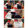 Learning the order of letters.