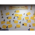 Our whole class has now received a Gold card! YAY!
