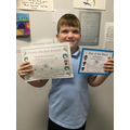 Kenzie, 4b, Star of the Week and Growth Mindset