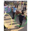 Amazing hoop skills