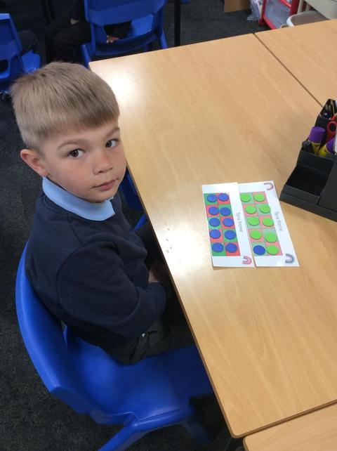 Maths - working on subtraction