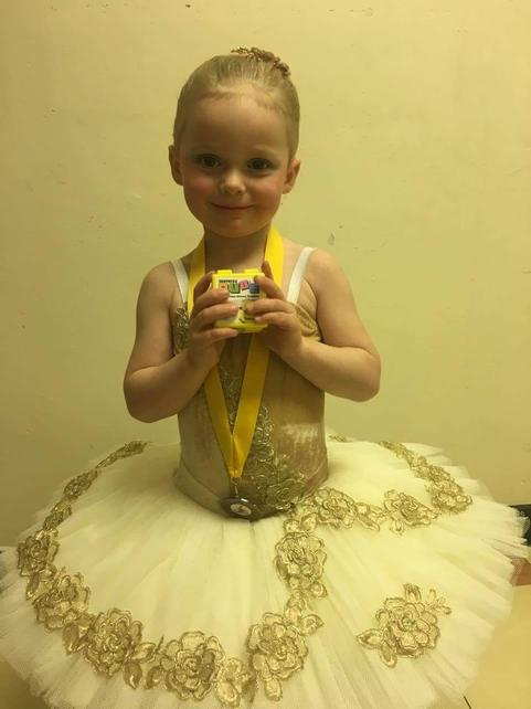 Well done to ivy coming 3rd in her cpmpition