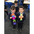 Darian and Bernardo's rockets!
