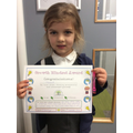 Hannah 1a - Amazing home learning