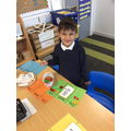 Hadi did so amazing with his counting today!