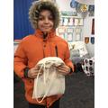 Dalibor was chosen to take the Math bag this week