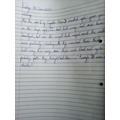Mahek's English Work