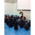The children met Cinderella