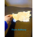 Anthony has made his own old paper!