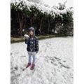 More fun in the snow!