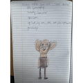 Love this character profile of the BFG!
