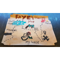 Faye's treasure map!