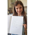 Faye has used speech marks brilliantly- love it!