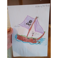 What a great pirate ship, Anthony