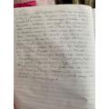 Fantastic writing by Aleena!