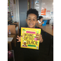 Ziah brought in some of his special books!