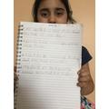 Mariyam's fantastic conjunction work