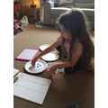 Faye has been recapping place value this week!