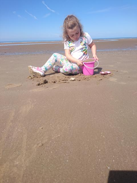 Caey-Marie in Blackpool