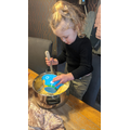 Baking and cooking is a great activity involving measurements and talk