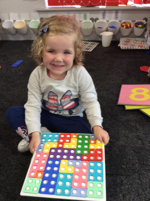 Numicon challenge done!