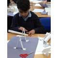 Building bridges- having a go with paper first.