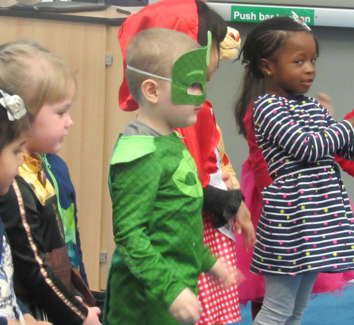 Super performances from Nursery.