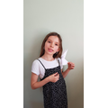 Faye's fabulous origami rabbit