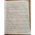 Beautiful handwriting, Aarokyo!