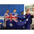 In Year 5 we celebrated Australia!!!