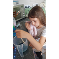 Faye has been making her own soap!