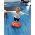 Wide shape balancing challenge!