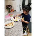 Our book focus on Handa's Surprise inspired a fruit salad recipe