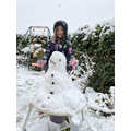 Lovely snowman, Elisa!