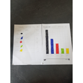 The made a bar graph with her results! Amazing work, Faye!