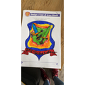 Jacob's VE Day Coat of Arms!