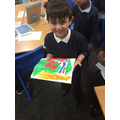 Hadi's lovely painting!