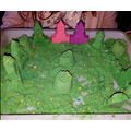 Hayley's amazing sand castles!