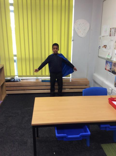 Responsible Reggie's tidy up- Well done Moustapha!