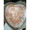 Aubree's yummy cake (save me a slice haha!)