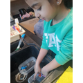 We explored objects that float or sink