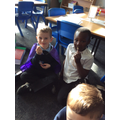 The boys loved golden time!
