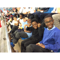 We had lots of fun at the swimming competition